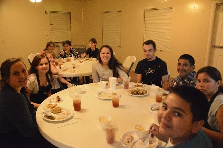 Youth Events - Thanksgiving Dinner
